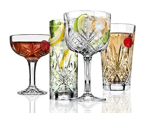Godinger Dublin Crystal Drinkware Set