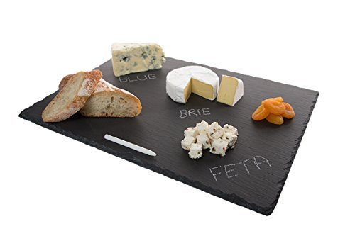 Large slate cheeseboards with soap stone chalk