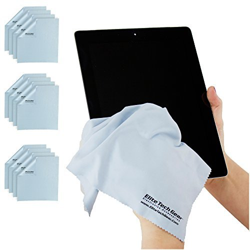 Plus, microfiber towels for cleaning your tablets