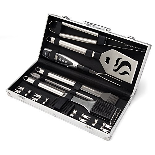 Complete grill tool set