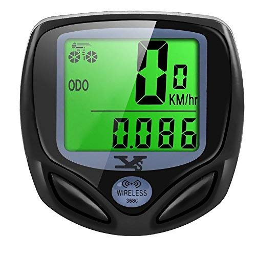 Bicycle speedometer and odometer