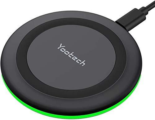 Qi-certified wireless charging pad