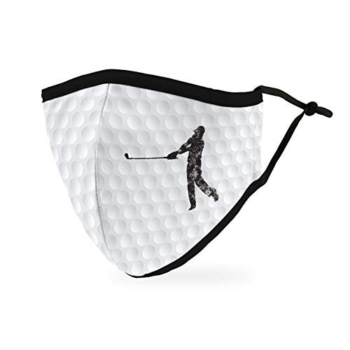 Take 15% off a golf-themed face mask