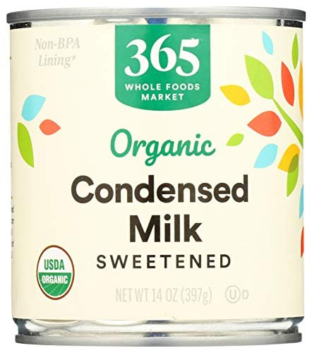 365 by Whole Foods Market, Organic Condensed Milk, Sweetened, 14 Ounce