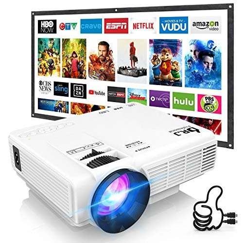 DR. J Professional Mini Outdoor Movie Projector
