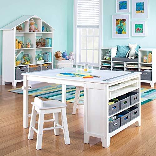 Martha Stewart kids' art table and stool set