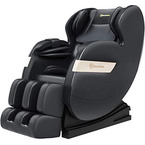 Zero-gravity shiatsu massage recliner chair