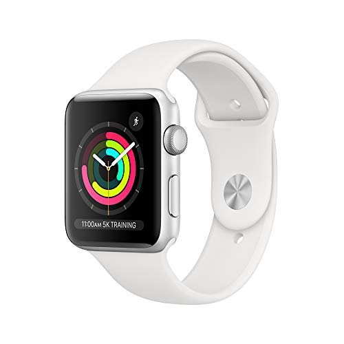 An Apple Watch with retina display, GPS, heart sensor and more