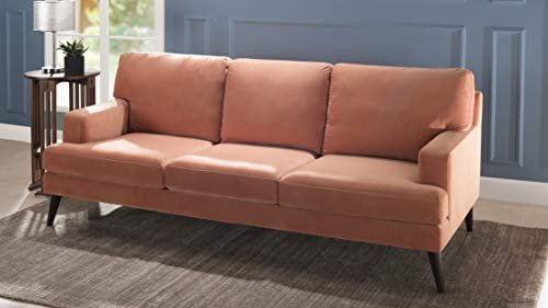 Comfy sofa with a modern touch