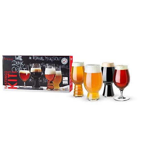 Set of beer tasting glasses