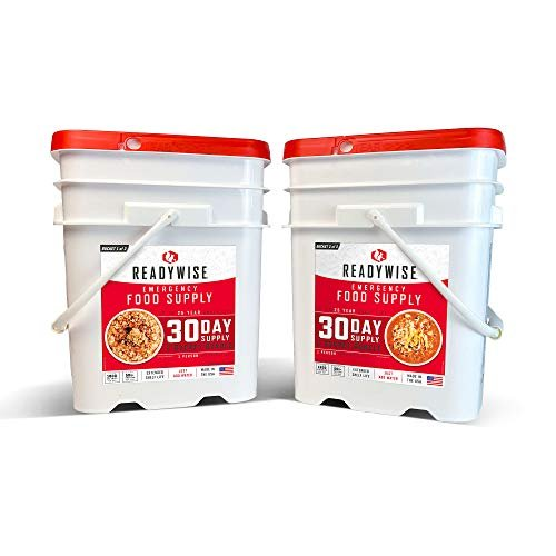 Save 15% on a 30-day emergency food supply