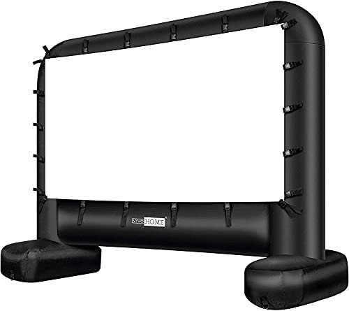 Vivohome Indoor and Outdoor Inflatable Projector Screen