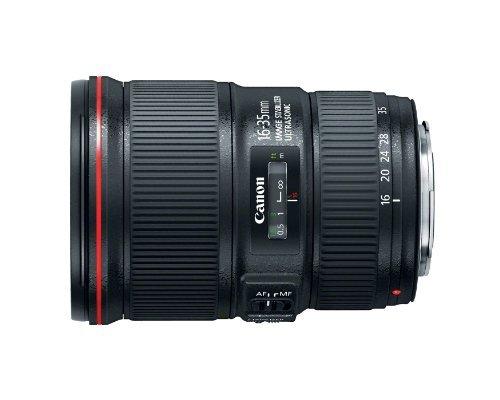 Canon EF 16-35mm f/4L IS USM Lens - 9518B002 , Black