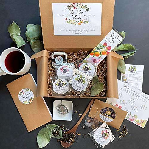 $13.75 discount on your first La Tea Dah box with a variety of teas