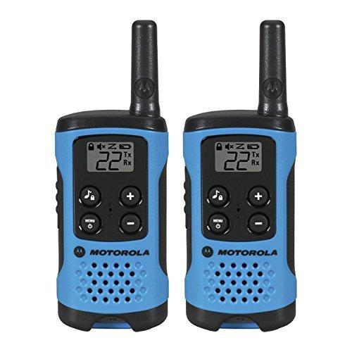 Motorola walkie talkies for communication outdoors, in emergencies or during road trips