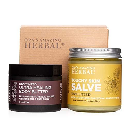 Natural skin care set for eczema
