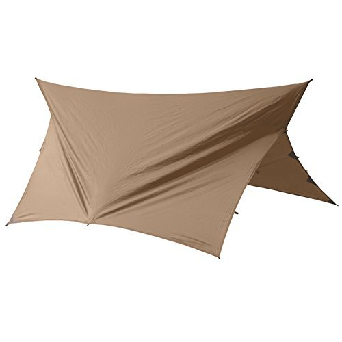 Go Outfitters versatile camping shelter and hammock tarp