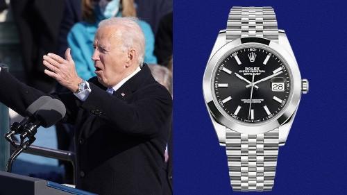 Looks Like Joe Biden Got a New Watch to Celebrate His Big New Job