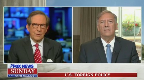 Chris Wallace Confronts Pompeo Over Trump Admin's Afghanistan Approach: 'Do You Regret' Giving Taliban 'Legitimacy'?