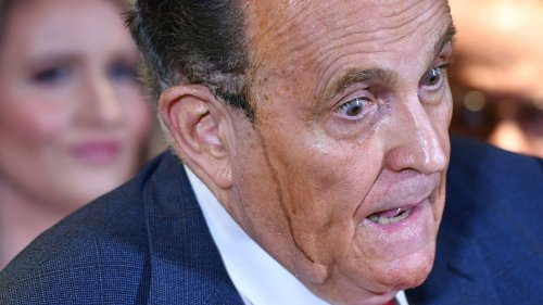 'I'm Not An Alcoholic' Insists Rudy Giuliani, Echoing Words Said By Nearly Every Alcoholic in Denial