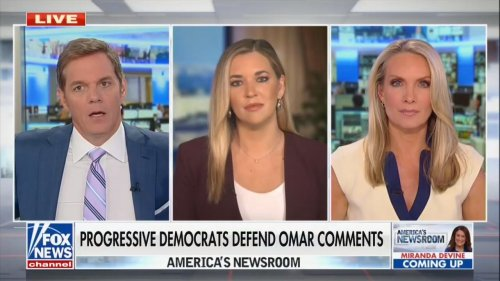 Fox News Anchor Bill Hemmer Goes Off on Rant About Ilhan Omar: 'Can She Ever Fly the Flag Maybe Just Once for Us?'
