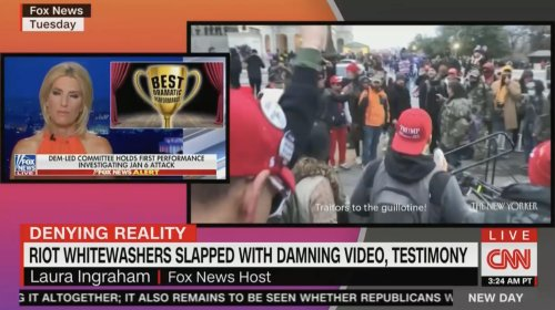 CNN's New Day Completely Destroys Fox News Coverage of January 6th Hearing With Brutal Montage