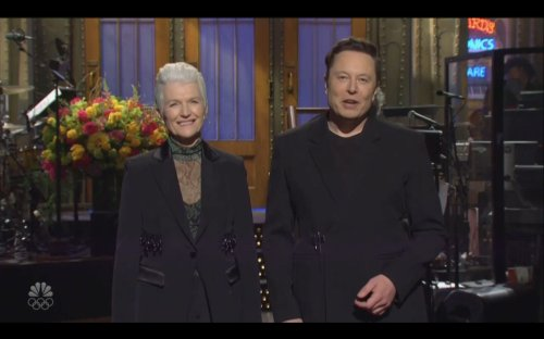 OK, That Was Actually Funny: Elon Musk (Joined By His Mom!) Delivers Self-Deprecating SNL Opening Monologue
