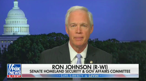 Sen. Ron Johnson Claims Jan. 6 Was Not an 'Armed Insurrection' Because People Stayed 'Within the Roped Lines'