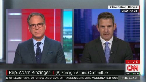 GOP Rep. Kinzinger Says All But a Handful of His Republican Colleagues Don't Actually Believe the Big Lie