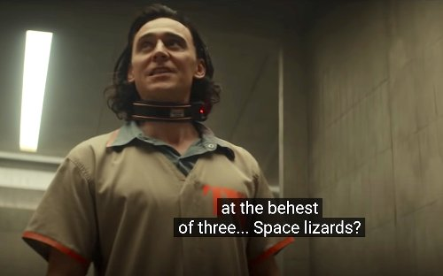 """Why Is Loki Mocking """"Space Lizards"""" in This New Loki Series Clip?"""