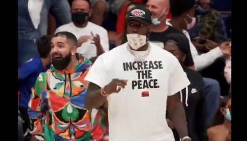 WATCH: LeBron Goes Viral at Son's Basketball Game as He and Drake Go Overboard With Their Celebrations, Argue with Ref
