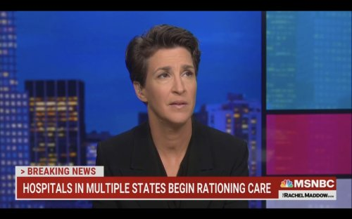 Rachel Maddow Emotionally Denounces Antivax 'Personal Choice' Arguments: 'Tell That To the Family of the Person Who Just Died'