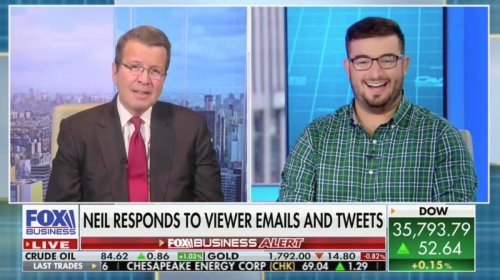 Cavuto Returns to Fox Post-Covid By Reading Viewer Mail: 'Keep Your Chubby Fingers Off My Body You Full-Figure Freak'