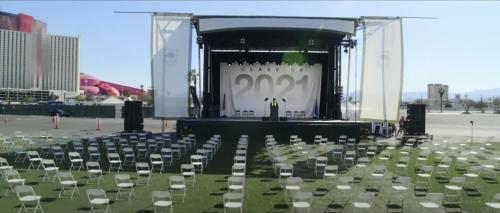 Former NRA President David Keene Speaks at Fake Graduation