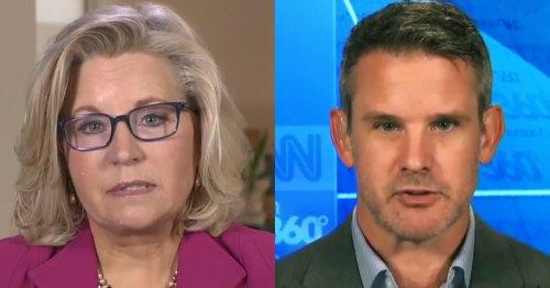 'Childish': Kinzinger, Cheney Fire Back at McCarthy Calling Them 'Pelosi Republicans'