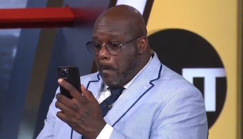 Shaq Gets Caught Picking His Nose, and TNT Crew Recoils in Laughter and Horror: 'Ain't No Kleenex Gonna Help That'