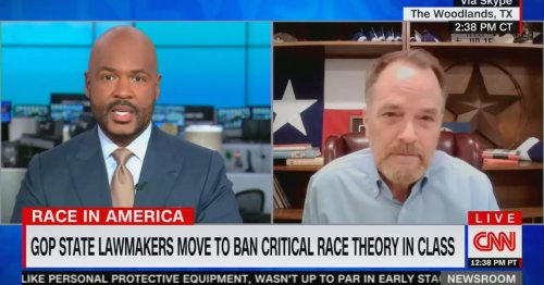 Victor Blackwell Confronts TX Rep Over Critical Race Theory