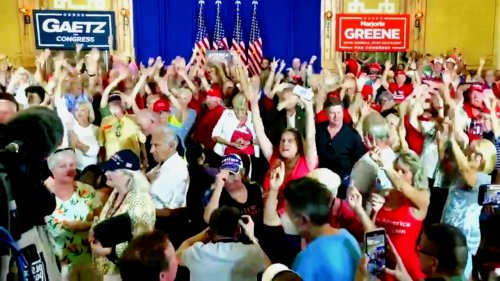 WATCH: Elderly White People Dancing at Matt Gaetz Rally to Queen Rock Anthem Endure Cruel Mockery on Twitter