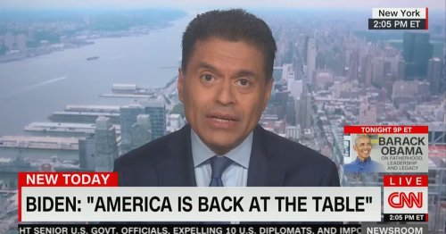 CNN's Fareed Zakaria: The World Prefers Biden's 'Boring' G7 Pressers to the 'Circus Freakshow' Under Trump
