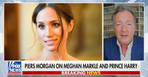 Piers Morgan Says Harry and Meghan Should 'Pipe Down': 'We're Hearing Too Much of Your Yapping' and 'Whining'