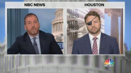 Chuck Todd Calls Out Dan Crenshaw for Blaming 'Liberal' Media for Questions on Trump's Lies: 'Nothing Lazier Than That Excuse'