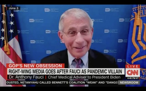 Jim Acosta Slams 'Fauci Derangement Syndrome' in Right-Wing Media: It Only Works 'If You Test Positive for Gullible'