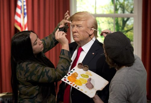 San Antonio Wax Museum Forced to Move Trump Figure Into Storage Because People Won't Stop Punching It