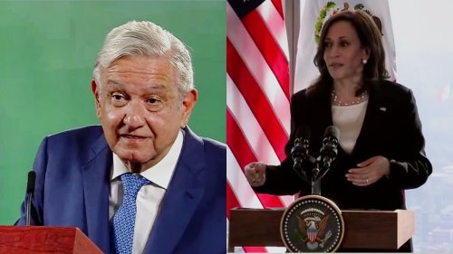 WATCH: Mexican President Gushes About Kamala Harris at Press Conference, Says Meeting Went So Well 'I Called Her President'