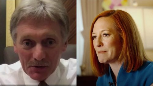 Jen Psaki Claps Back at Putin Spox Who Says Navalny Won't Come Up at Biden Meet: 'It May Not Be On HIS Agenda…'