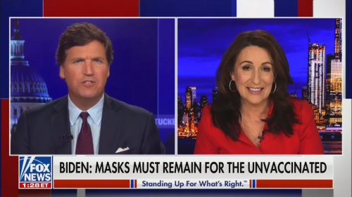Tucker Carlson Claims Joe Biden and Kamala Harris Have Done 'More Harm than any Anti-Vaxxer!'