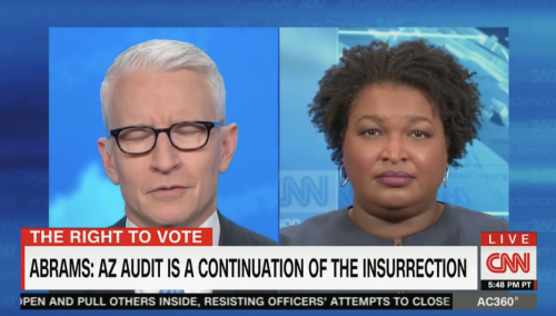 Stacey Abrams Calls Arizona Election Audit 'A Continuation of the Insurrection'