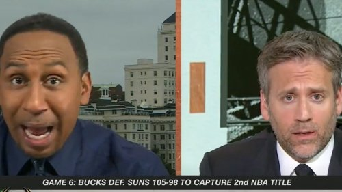 Stephen A. Smith ERUPTS at Max Kellerman During Debate Over Giannis: 'It's A Damn Shame I Have to Talk Basketball With You'