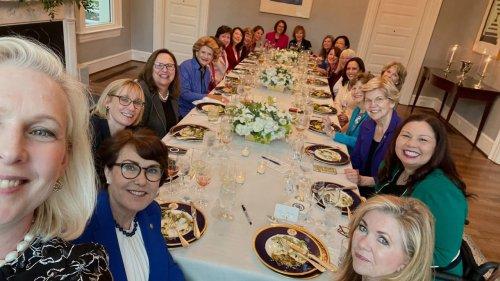 Vice President Kamala Harris Hosts Historic Bipartisan Dinner with Women Senators — And She Cooked