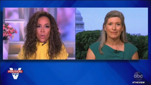 The View's Sunny Hostin Confronts GOP Senator on Her Vote Against 1/6 Commission: 'How Can You Not Want to Find Out the Truth?'
